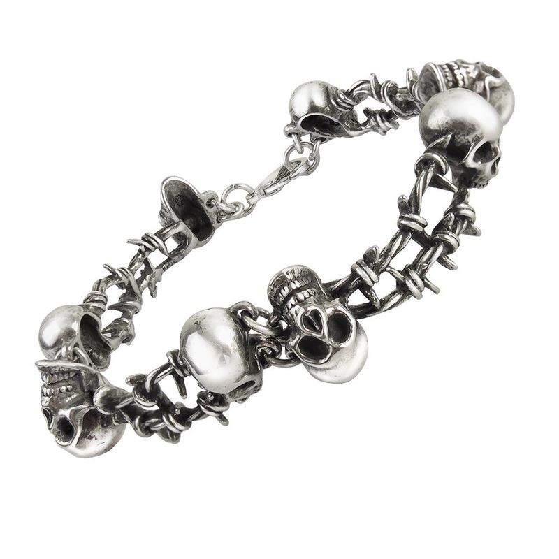 Alchemy Gothic No Man´s Land - Chain Bracelet