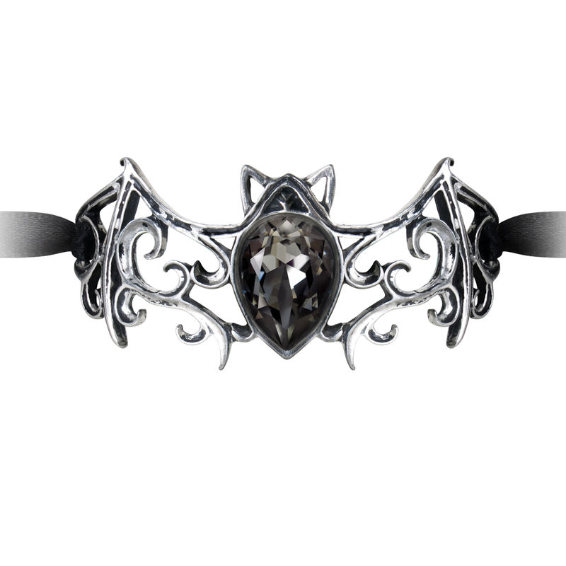 Alchemy Gothic Viennese Night Ribbon - Bracelet