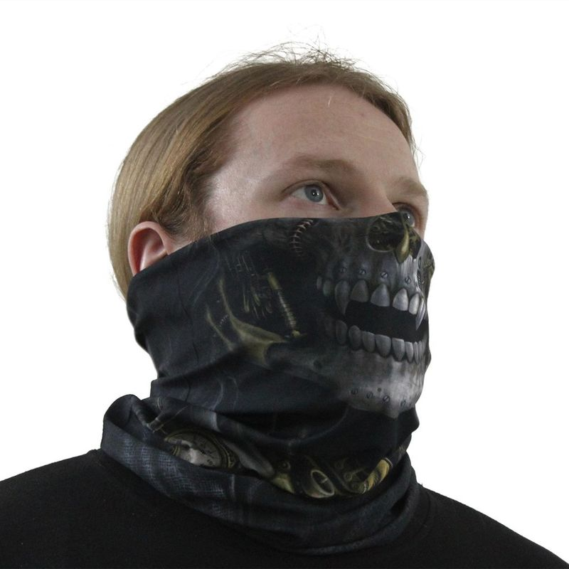 Spiral Steam Punk Reaper - Face wrap