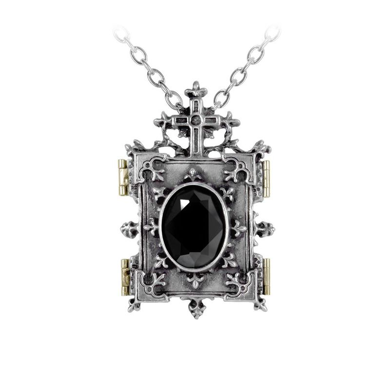Alchemy Gothic Orthodox Icon Locket - Necklace