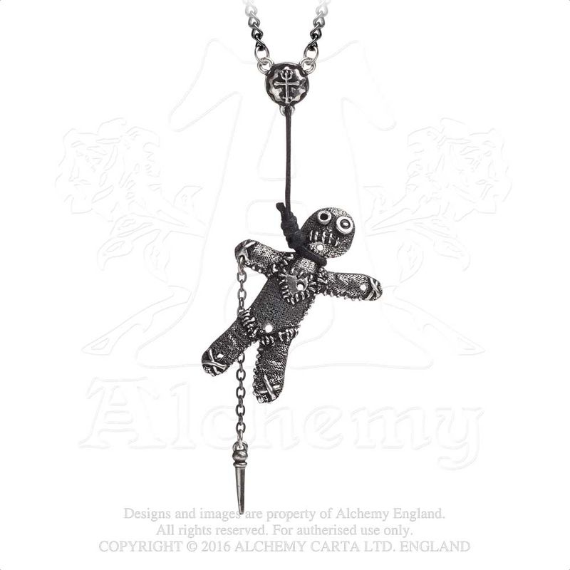 Alchemy Gothic Voodoo Doll - Necklace