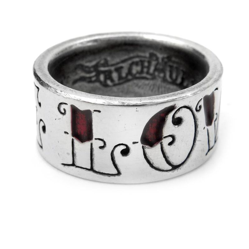Alchemy Gothic Love & Hate - Ring