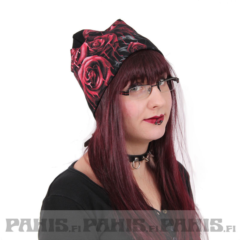 Spiral Blood Rose - Beanie