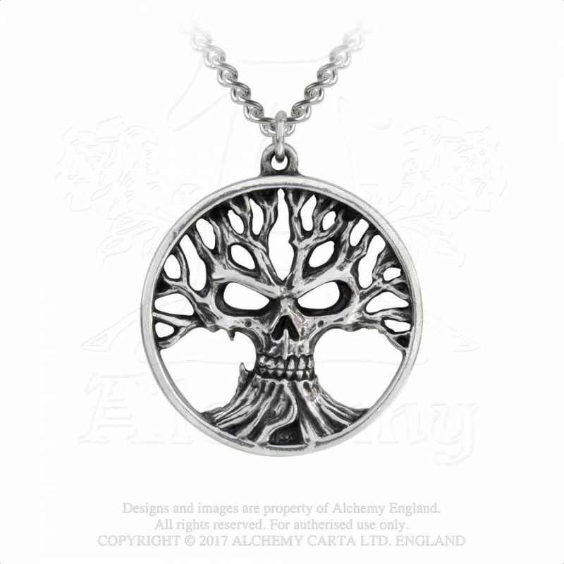 Alchemy Gothic Tree of Death - Necklace