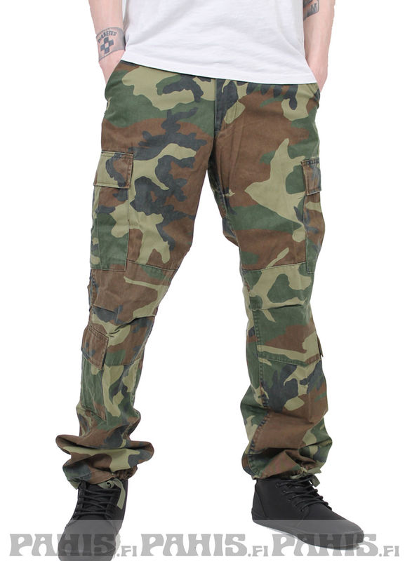 Rothco Woodland Camo Green - Cargo Pants