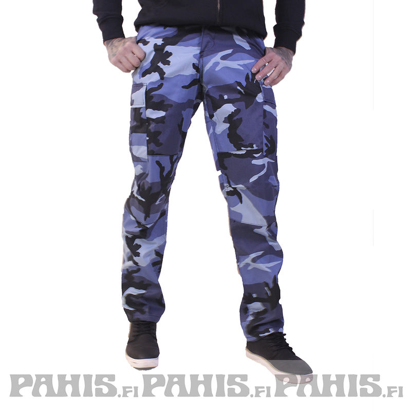 Rothco Color Camo - Cargo Pants, sky blue