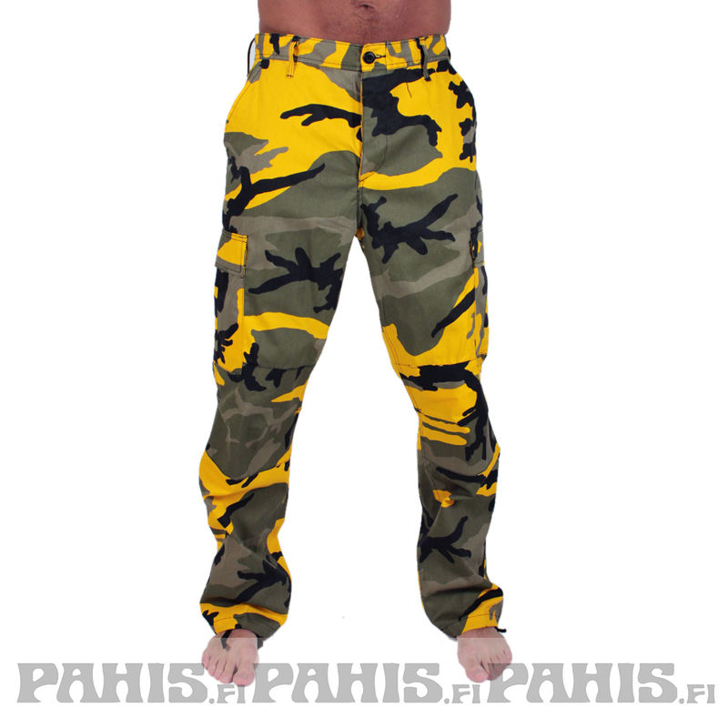 Rothco Color Camo - Cargo Pants, stinger yellow